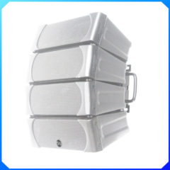Soundbarrier SB-LA45 4 x 5″ Two Way Full Range Mini ABS Line Array Cluster – White